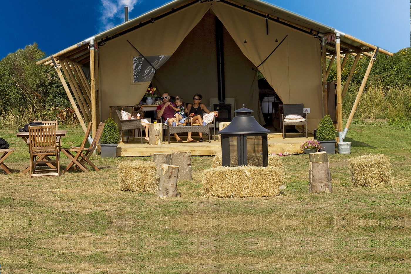 Glamping in Suffolk