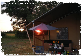 Boundary Farm Glamping Cooking Outdoors